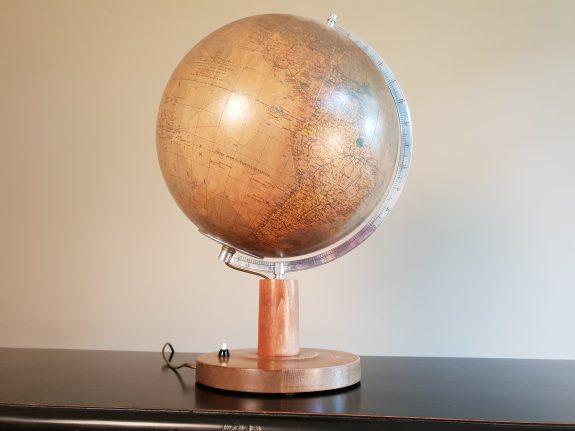 Duitse globe wereldbol Krause