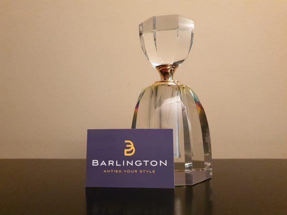 Zeer grote kristallen parfumfles