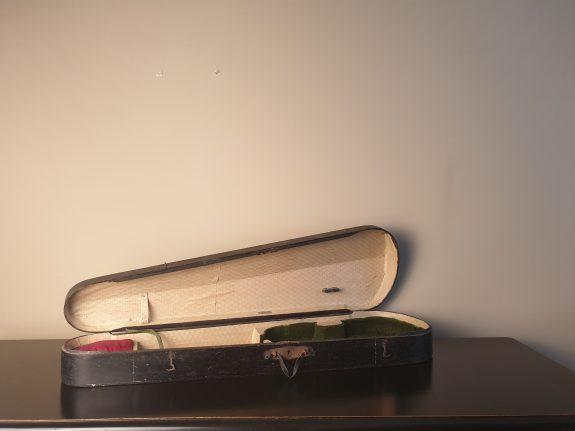 houten Groningse vioolkoffer of vioolkist