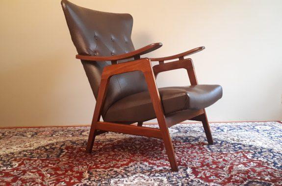 Louis van Teeffelen mid century design stoel