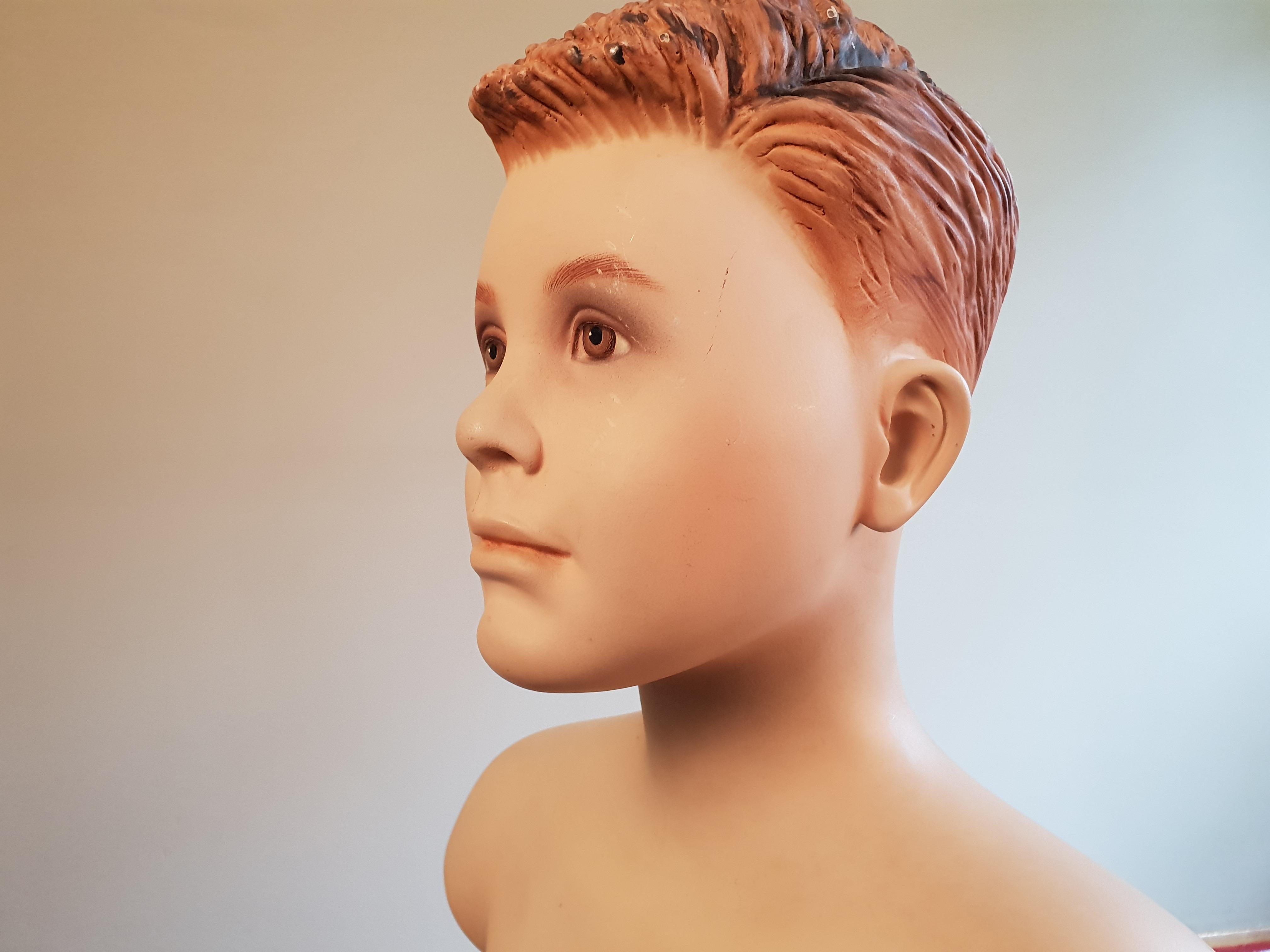 Verrassend Barlington - Fiberglass vintage paspop 12 tot 14 jarige jongen QJ-27